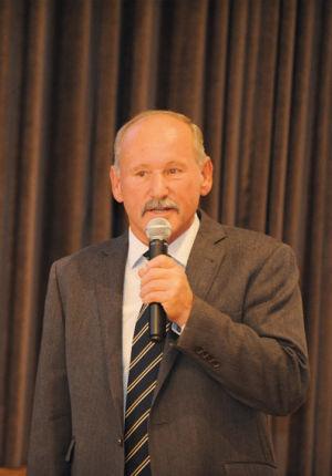Begrüßung durch Bürgermeisterstellvertreter Herman Ritzer