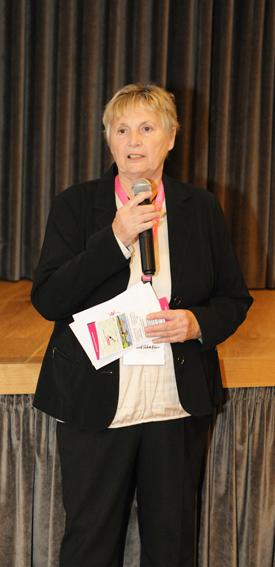 Begrüßung durch Frau Getraud Schaffer, Präsidentin ÖRL