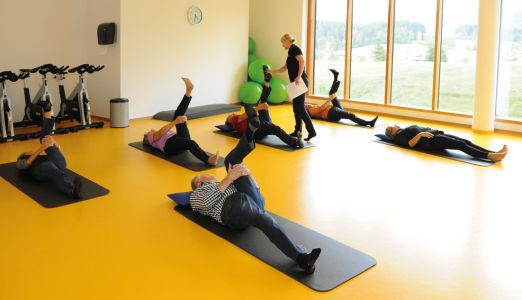 Aktivprogramm mit Dipl. Physiotherapeutin Corinna Hübner